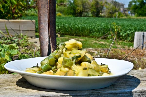 Green Potato Salad