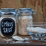 Citrus Sea Salt – a recipe