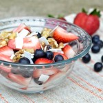 berry {coconut milk} yogurt parfait