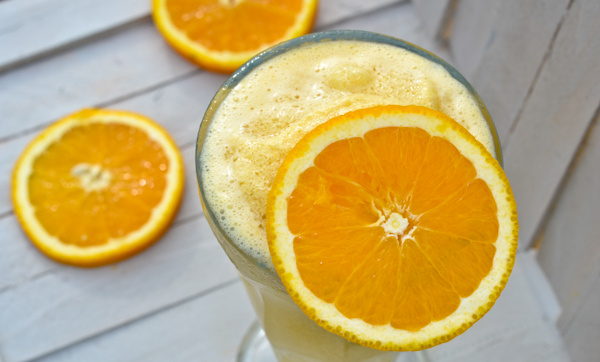 DIY orange julius