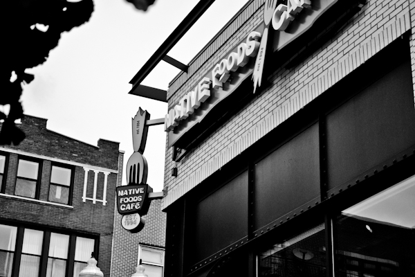 Native foods Cafe // Wicker Park