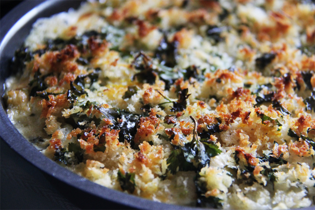 Brussels Sprouts Gratin