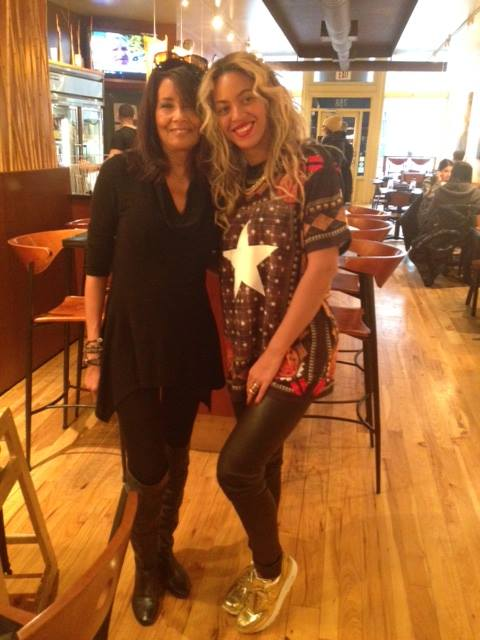 Beyonce + Karyn Calabrese