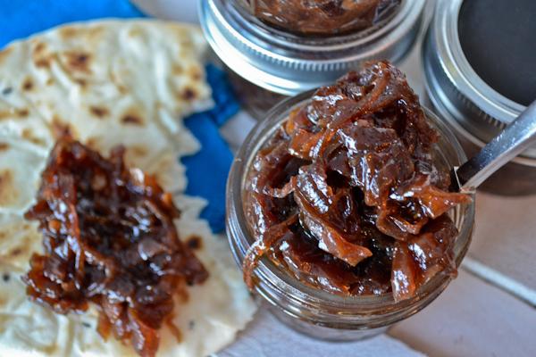 Caramelized Onion & Apple Chutney