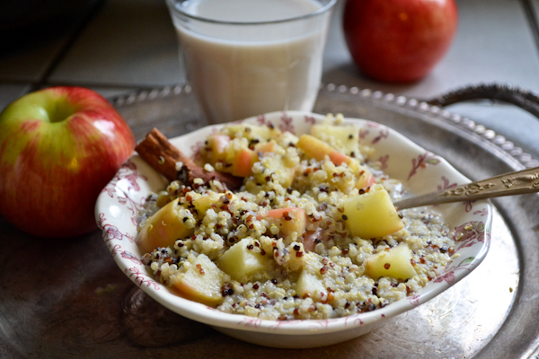 Apple Pie Quinoa