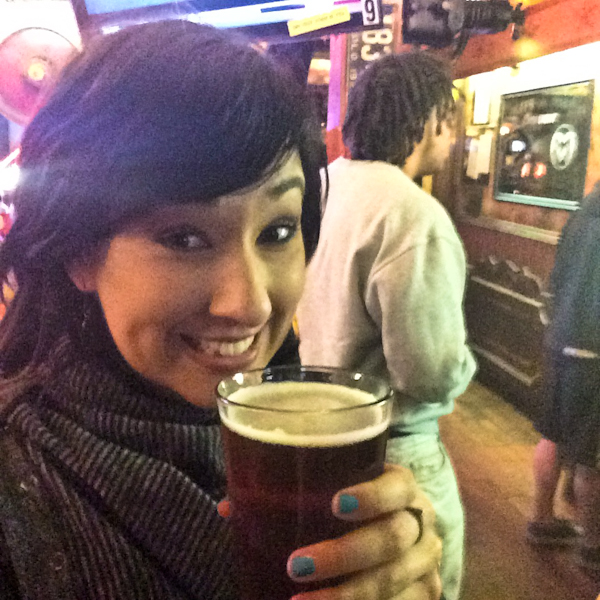 Crista's First Beer