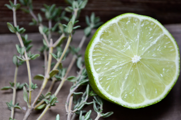 thyme and lime