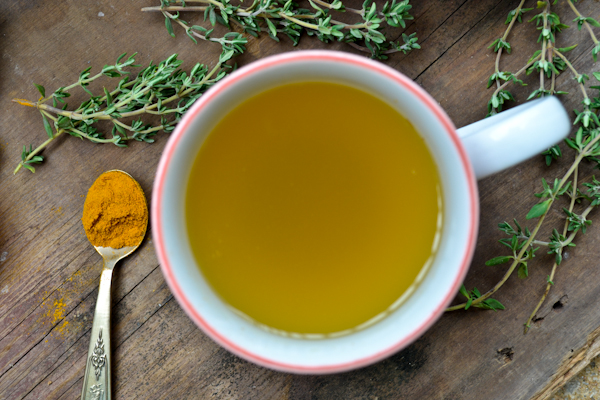 thyme tea - a cough buster