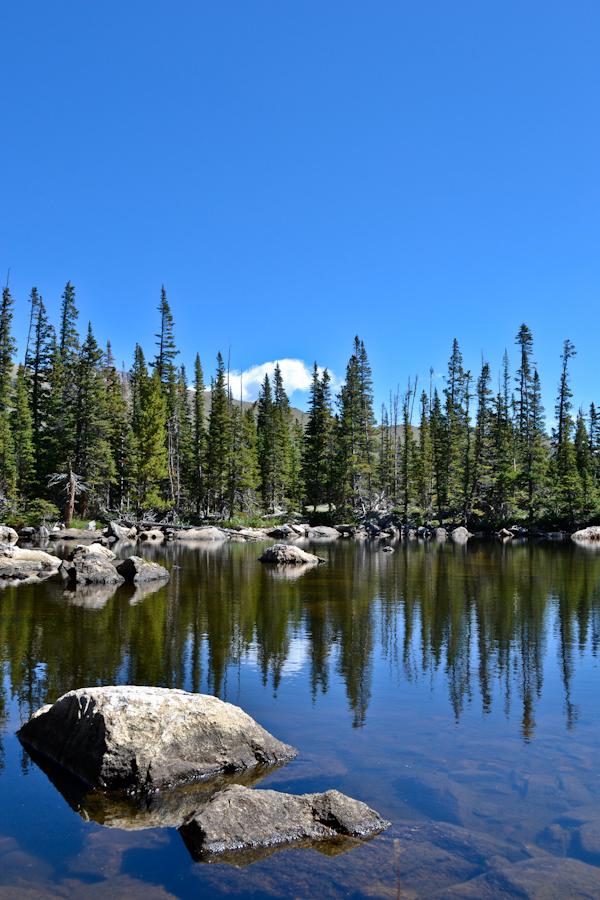 Ypsilon Lake //Rocky Mountain National Park