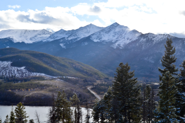 breckenridge / snowy mountains