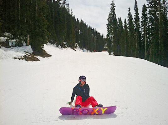 snowboarding Telluride