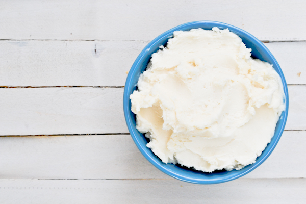 Coconut Butter Cream Cheese Frosting
