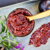 Cardamom Scented Plum Chia Jam (no sugar or pectin added!)
