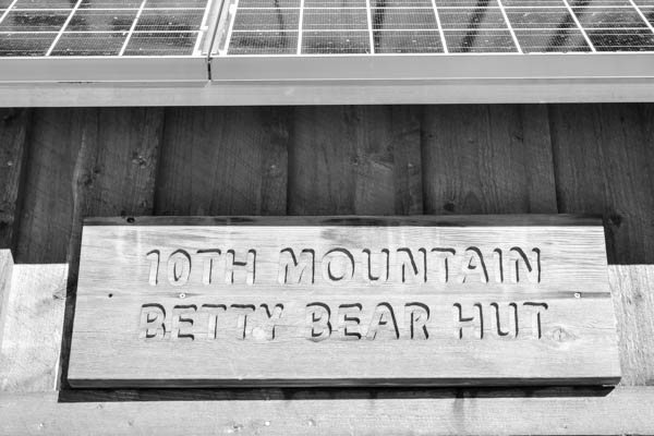 Betty Bear Hut 10th Mountain