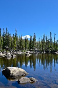 Ypsilon Lake //rocky Mountain National Park