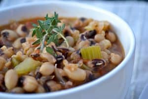 Vegan Black Eyed Peas