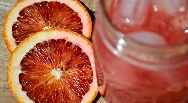Sparkling Blood Orange Spritzer