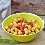 Chickpea & Tomato Salad // Peace. Love. Quinoa