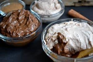 Vegan Chocolate Pudding With Cinnamon Whipped Cream