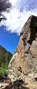 Rock Climb Boulder Canyon