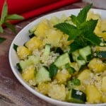 Cucumber Watermelon Quinoa Salad // Peace. Love. Quinoa