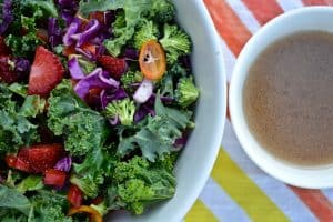 My Favorite Kale Salad // Peace. Love. Quinoa