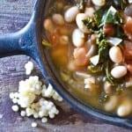 Garlicky Kale & White Bean Stew