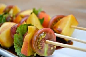 Peach & Tomato Skewer 4