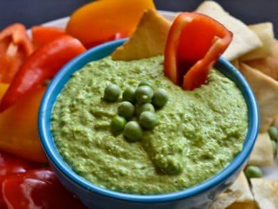 Pea Hummus // Peace. Love. Quinoa