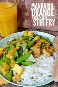 Mandarin Orange Chicken Less Stir Fry