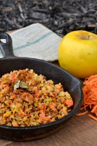 Apple, Carrot, Quinoa Hash