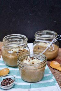 Dairy Free Bourbon Butterscotch Pudding