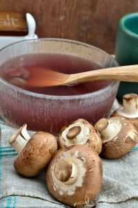 Restorative Mushroom Veggie Broth