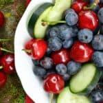 Cucumber Berry Fruit Bowl 2