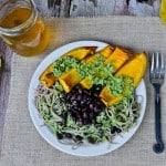 Chimichurri Pumpkin Plate