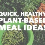 Quick, Healthy, Plant Based Meal Ideas
