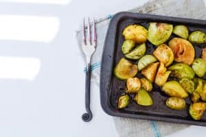 Roasted Green Tomatoes